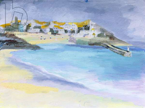 St. Ives, Cornwall, 2005 (acrylic on board)