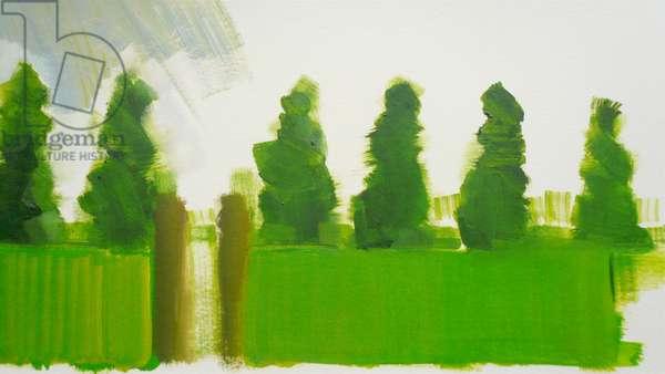 Thorpe 2010 (oil on paper)