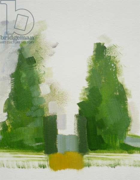 Misselthwaite 2012 (oil on paper)