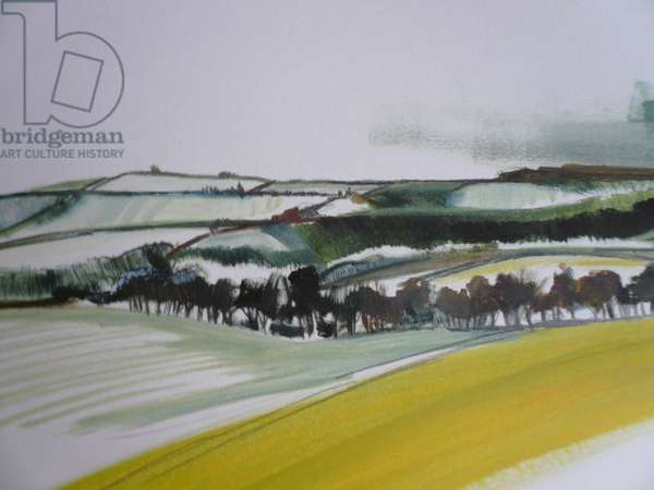 Southstoke in the Snow 2012 (oil on paper)