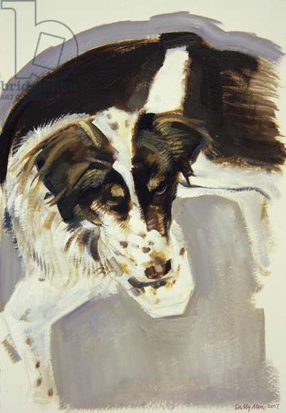 Maddy, 2007 (oil on paper)
