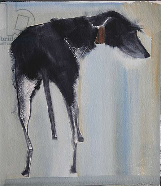 Purdey, 2010 (oil on board)