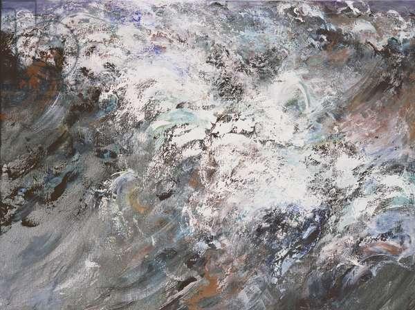 Wild Sea, March, 2007 (oil on canvas)