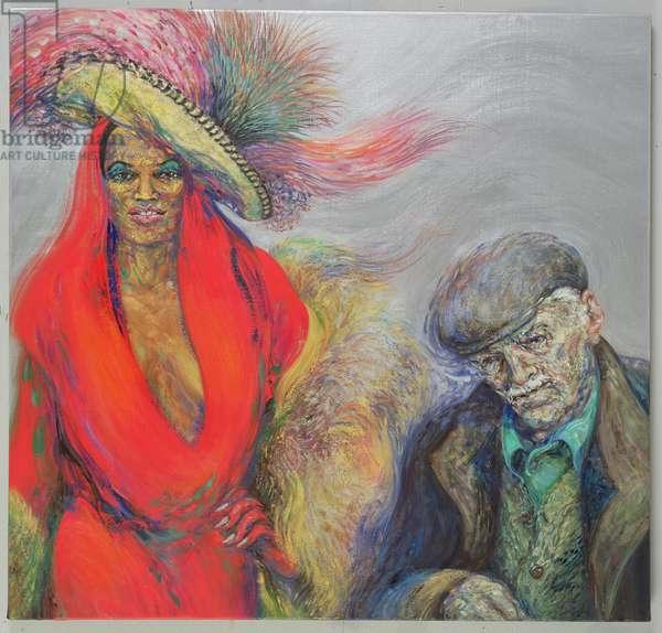 Murderer for Love, 2004-05 (oil on canvas)