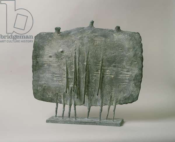 Friends Walking, 1952 (bronze)