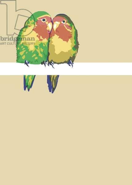 Love Birds, 2012 (mixed media)