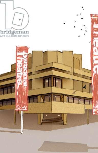 National Theatre, 2008 (mixed media)