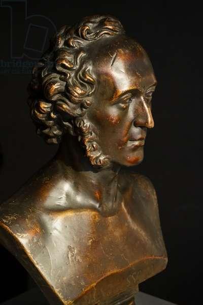 Mendelssohn Bartholdy, plaster bust