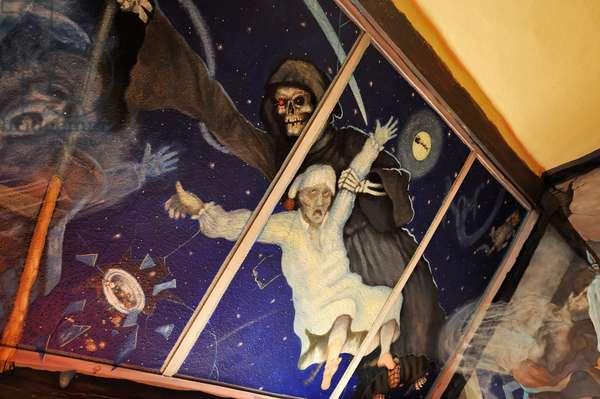 Jamie Montgomery, Dickens mural