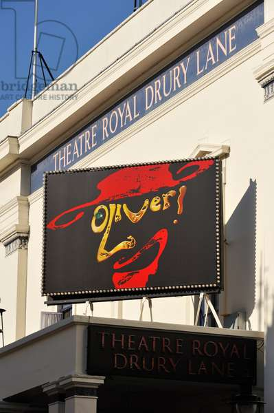 Oliver the musical, sign