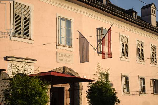 Leopold Mozart death house,