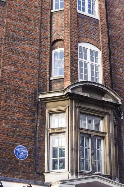 Blue plaque, Joseph Nollekens,