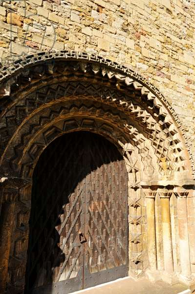 Llandaff Norman doorway