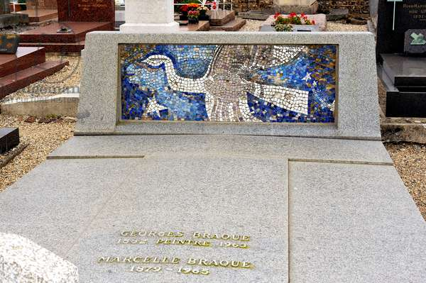 Tomb of George Braque