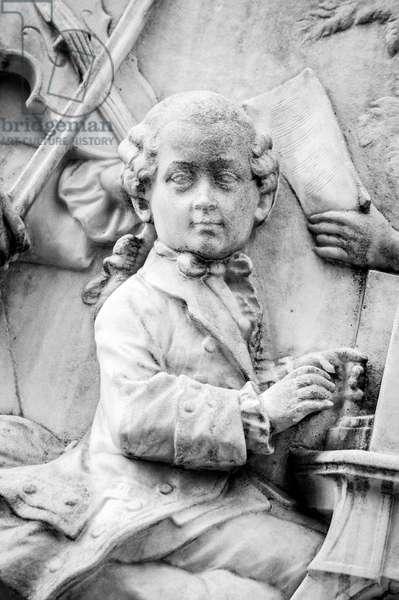 Wolfgang Mozart as child