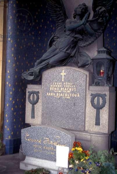 Beno Blachut 's grave