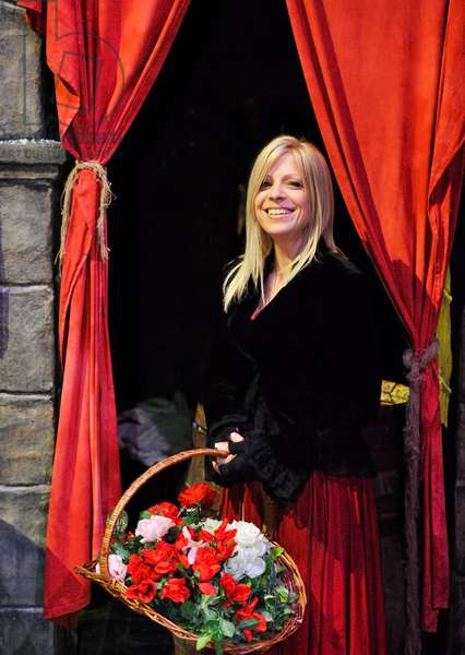 """Nancy"" at Dickens World"