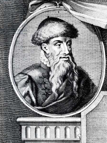 Joannes Gutenberg porrait