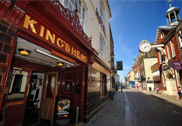 King's Head Dickens connection