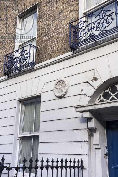 Oscar Wilde birth house