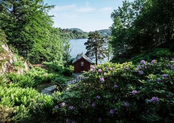 Grieg Composer's hut Troldhaugen