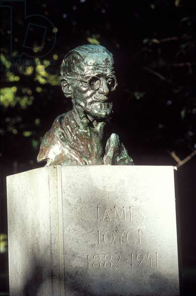 James Joyce - bust