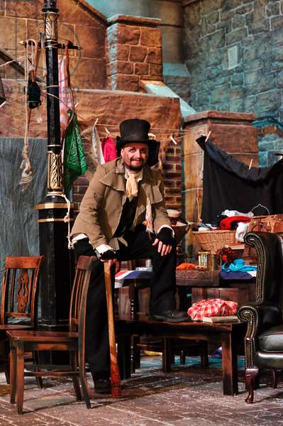 Bill Sikes at Dickens World