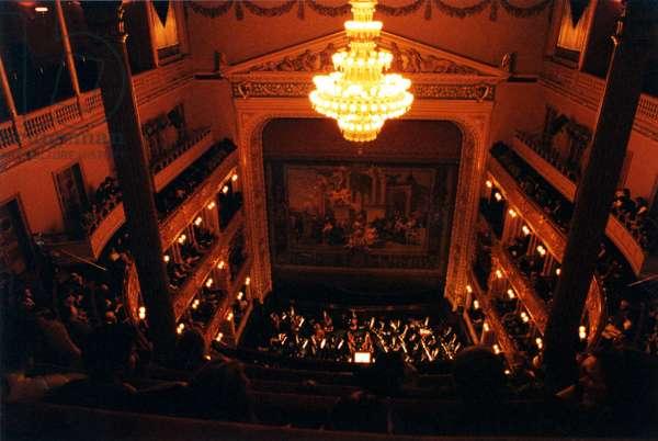 Prague National Theatre interior