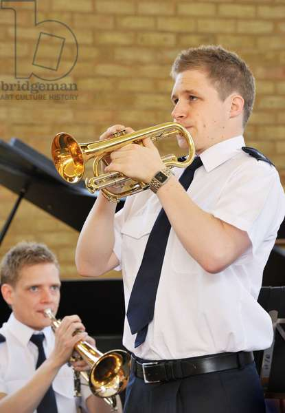 Cornet soloist with Salvation Army Band
