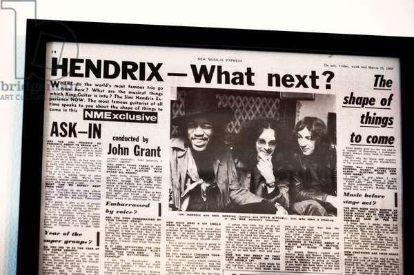 Jimi Hendrix memorabilia