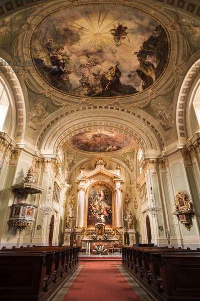 Lichtenthal Church. Franz Schubert,
