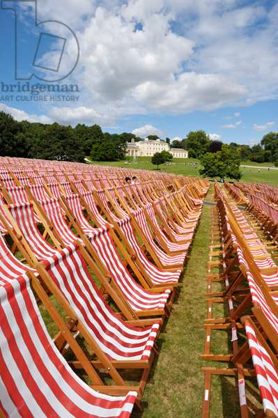 Deckchairs at Kenwood concerts