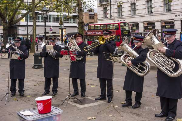 Salvation Army brass band