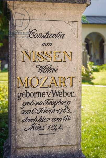 Constanze Mozart grave