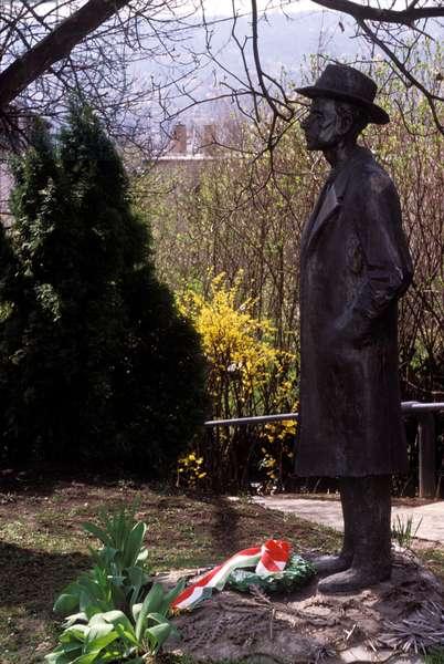 Bela Bartok - statue