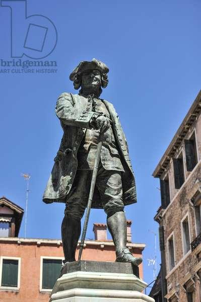 Goldoni statue, Rialto