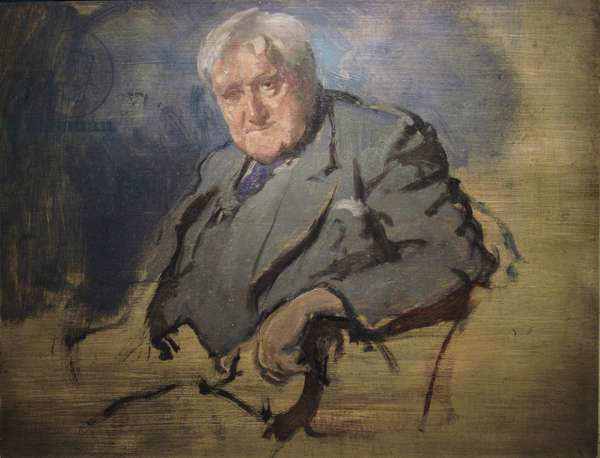 Vaughan Williams (oil on canvas)