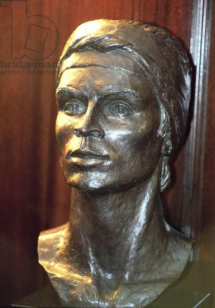 Rudolf Nureyev - bust
