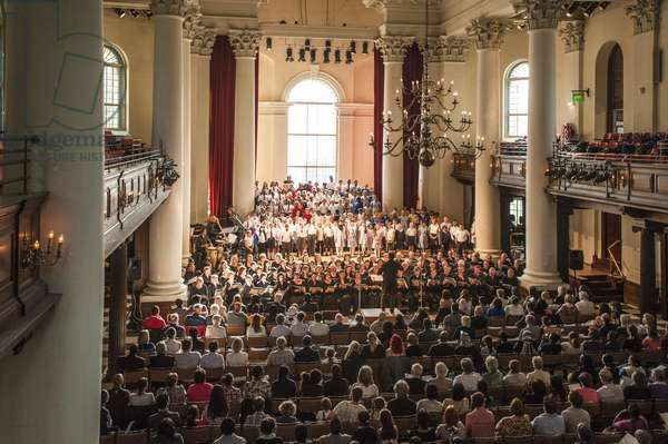 Children's choirs and The Bach Choir