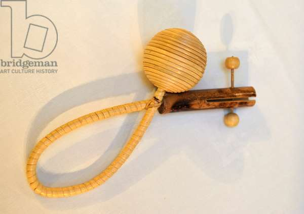 Mauritian folk rattle