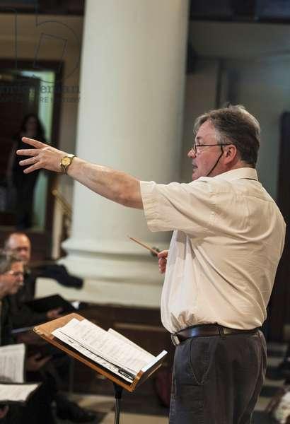 David Hill, conductor