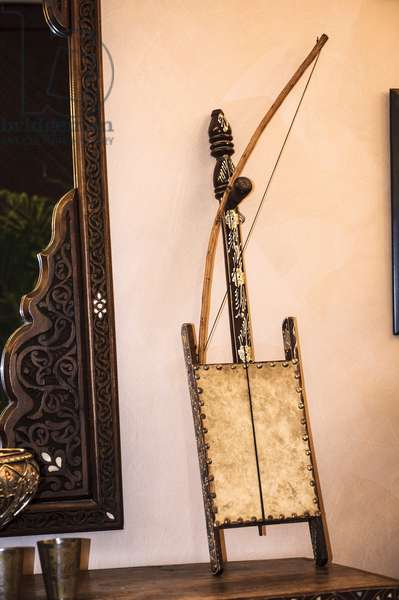 Rebab on display