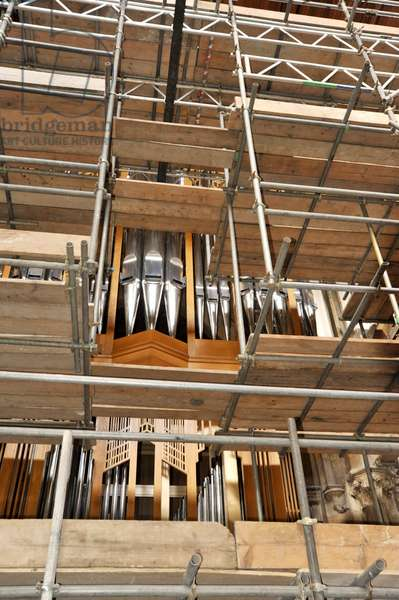 New Llandaff organ