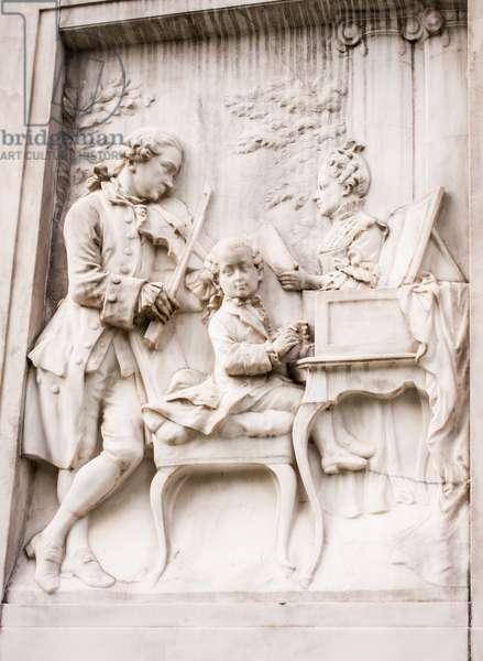 Leopold Mozart, Wolfgang, Nannerl,