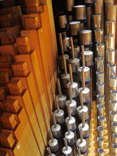 chamber organ pipes