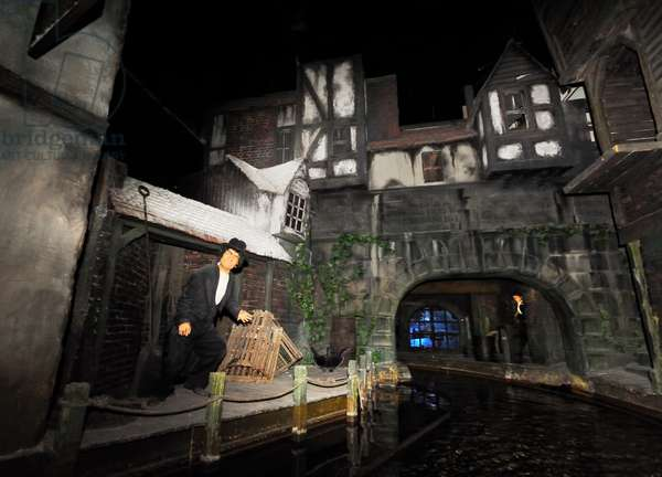 Dickens World boat ride