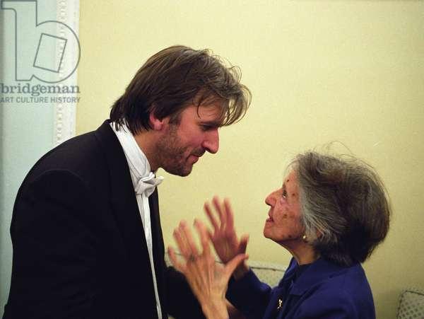 Barry Douglas, pianist with Maria Curcio