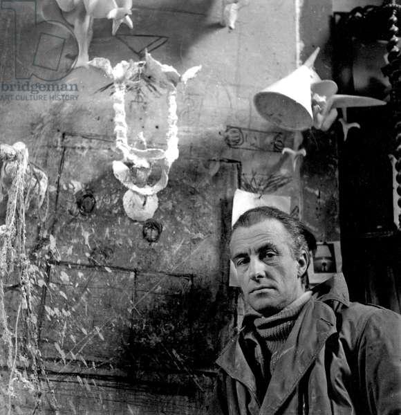 Diego Giacometti (b/w photo)