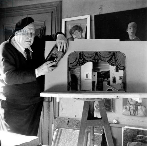 André Derain in 1952 (b/w photo)