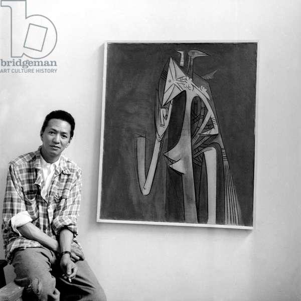 Wilfredo Lam (b/w photo)